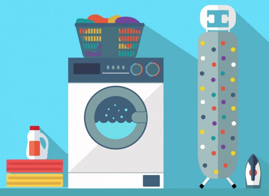 چگونه لباس زیر خود را در ماشین لباسشویی بشویید .