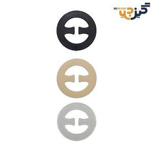 قلاب جمع کننده بند پشت سوتین بسته 3 رنگ کد:c102