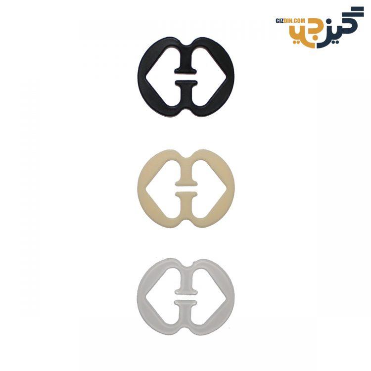 گیره جمع کننده بند پشت سوتین بسته 3 رنگ کد:c106