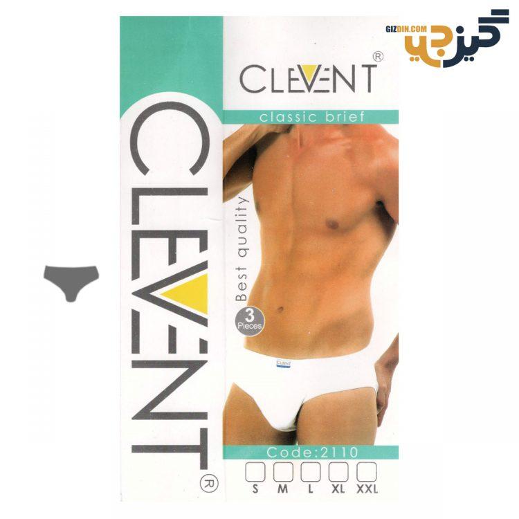 شورت مردانه اسلیپ Clevent سفید بسته 3 تایی کد :shm114