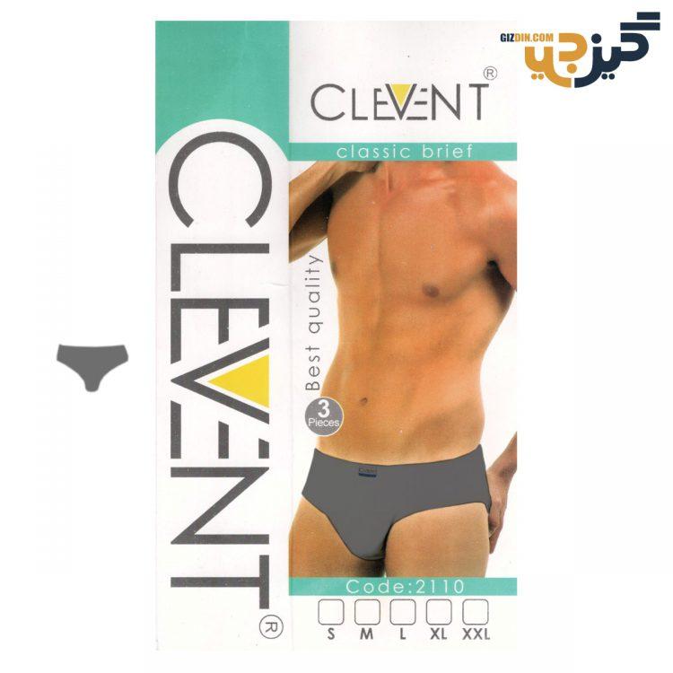 شورت مردانه اسلیپ Clevent رنگی بسته 3 عددی کد :shm115