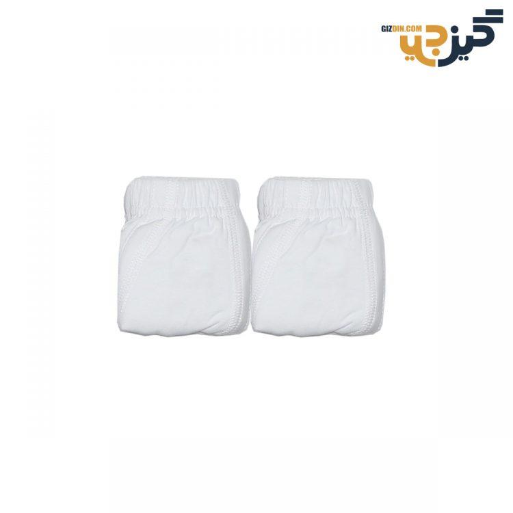 شورت مردانه پادار Clevent سفید بسته 2 عددی کد :shm116