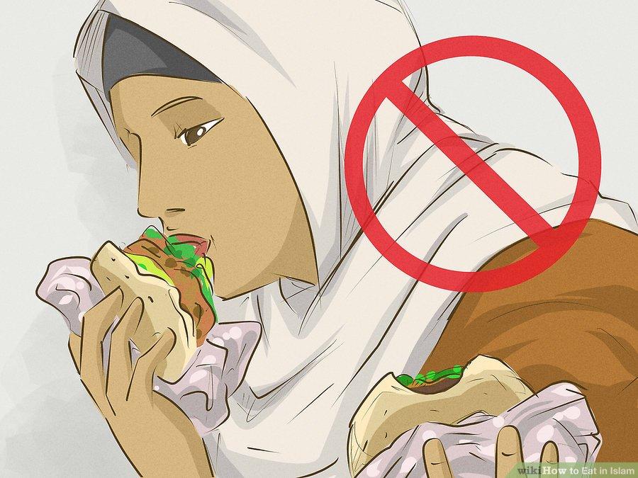 در خوردن غذا پرخوری نکنید