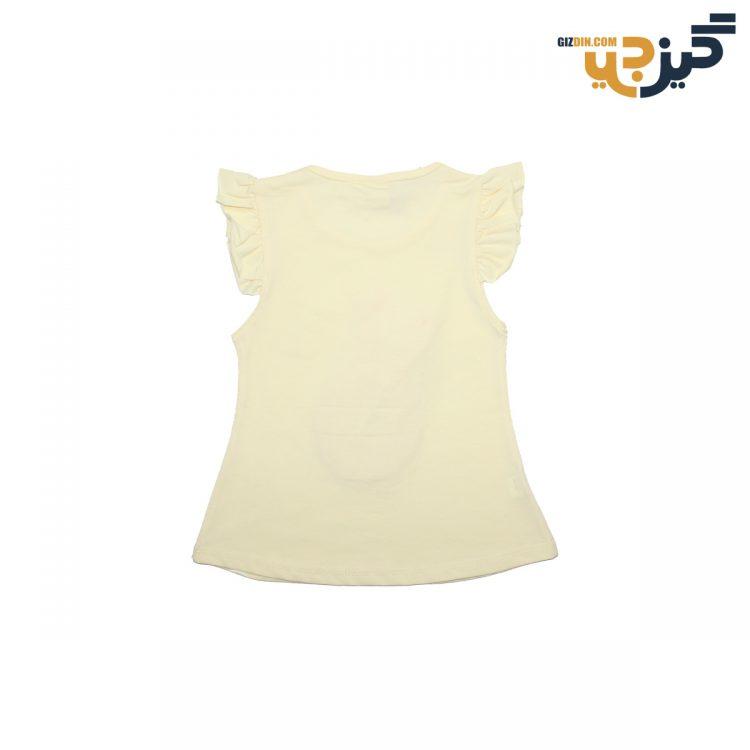 تیشرت و شلوارک طرح خرگوش زرد تکه دروزی کد:ch106-3