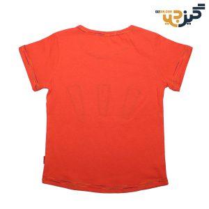 تیشرت کتان علامت تعجب نارنجی کد :ch108-4