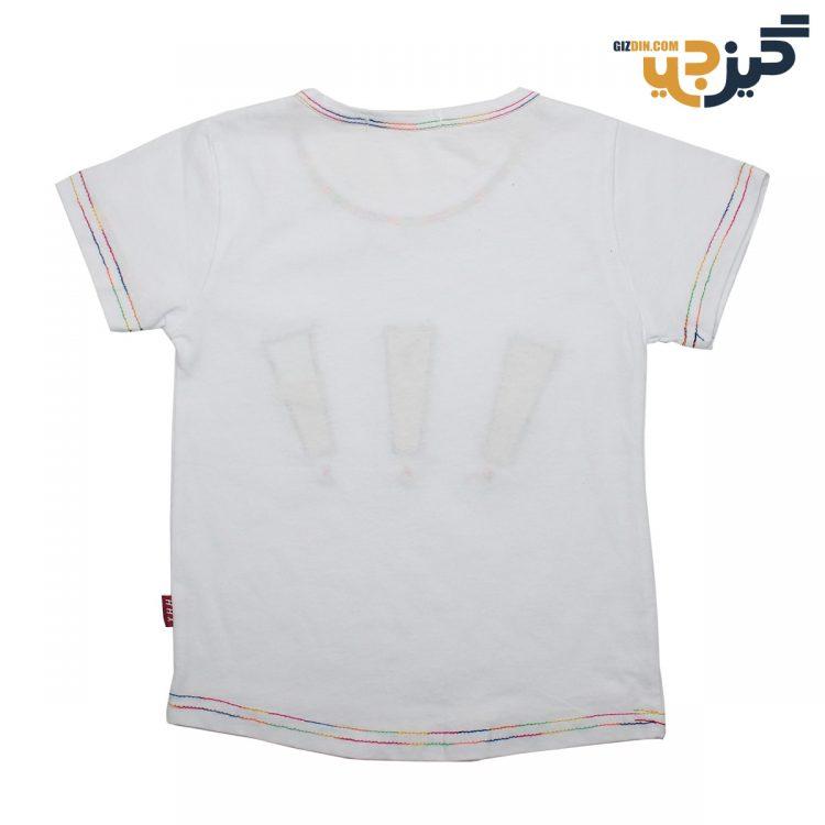تیشرت کتان علامت تعجب سفید کد :ch108-1