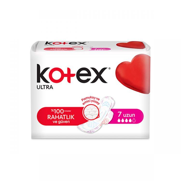 نوار بهداشتی kotex بلند محصول ترکیه کد:h101-2