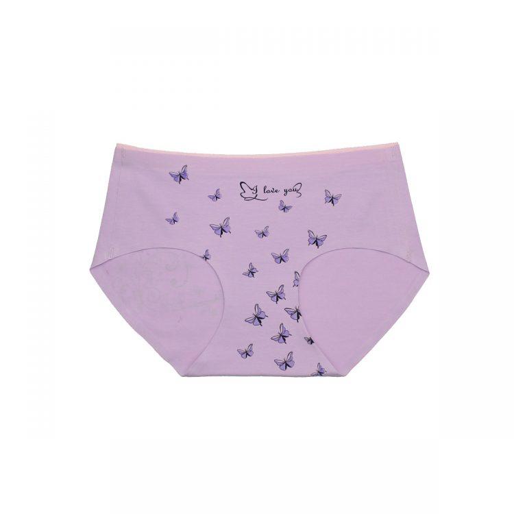 شورت لیزری Butterfly بنفش نخی کد:shw128-2