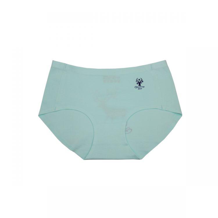 شورت لیزری نخی سبز آبی طرح گوزن کد:shw128-10