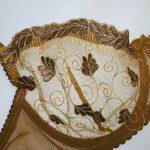ست لباس زیر خردلی تیره misa توری و بدن نما کد:s214-1