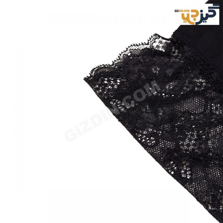 شورت برند H&M فاق بلند مشکی لاکچری کد:shw153