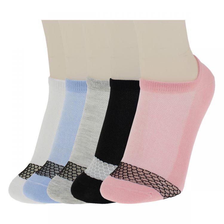 جوراب مچی پنجه طوری رنگی کد:sow119