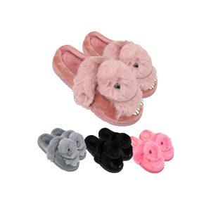 پاپوش طرح خرگوش پشمالو Family کد: p102-2513-41