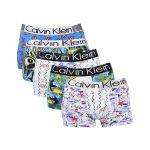 شورت پادار مردانه طرح Calvin Klein کد:shm128-4