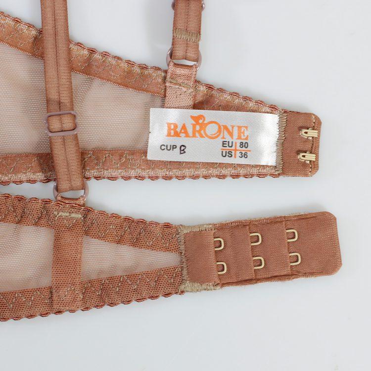 ست Barone توری قهوه ای کد:s164-5