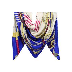 روسری توییل کاربنی طرح GUCCI کد:R107-1R8-1