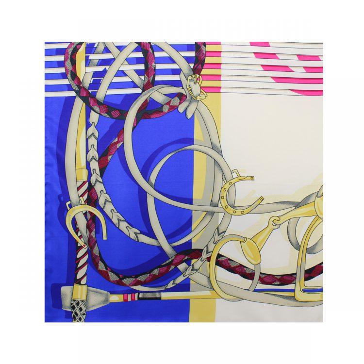 روسری توییل کاربنی طرح GUCCI کد:R107-1