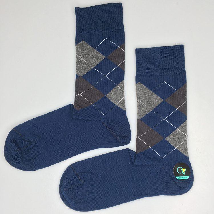 جوراب مردانه 2-102 ساق دار بسته 6 عددی برند CLEVENT کد:som102-2