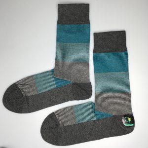 جوراب مردانه 5-102 ساق دار بسته 6 عددی برند CLEVENT کد:som102-5