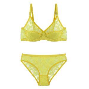 ست توری زرد بدن نما برند B&D کد:s369-4736-37