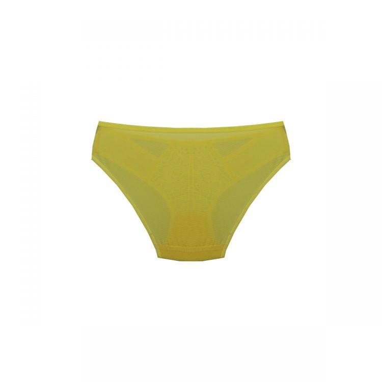 پشت شورت ست گیپور فانتزی زرد برند B&D کد:s367-3