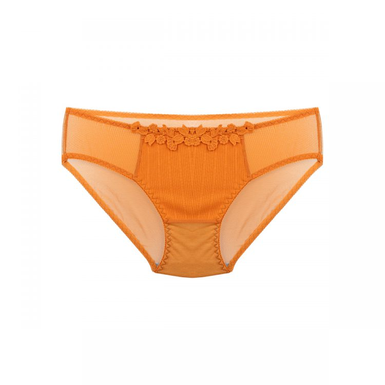 شورت ست لباس زیر خردلی طرح کبریتی کد:s393-1